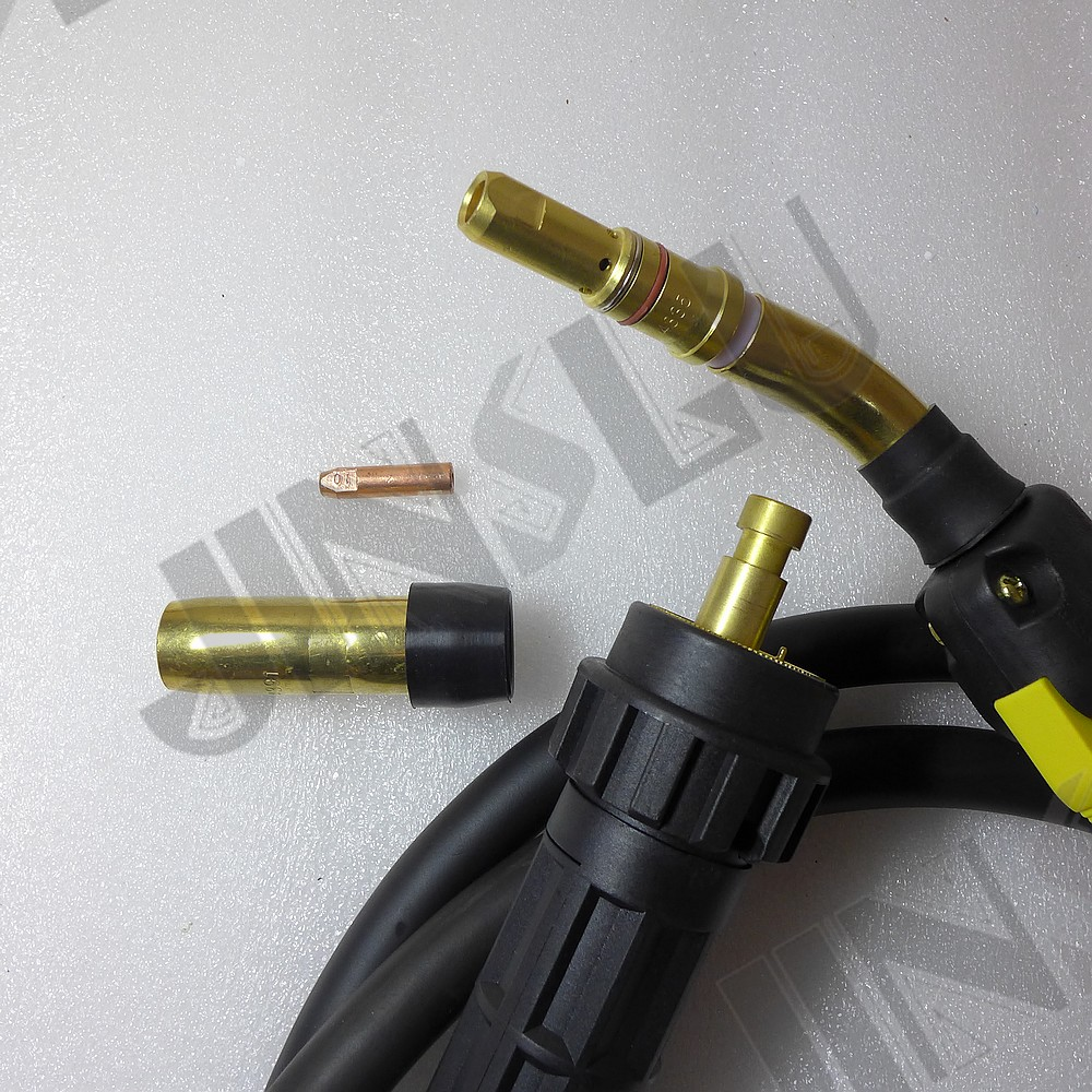 Bernard Style Non-original 300A MIG Welding Torch Gun 3M Air-cooled Euro Quick Connector MIG MAG Welding Machine Welder 1pcs mig wire feeder motor 76zy02a dc24v 18m min for mig welding machine