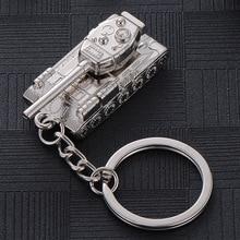 Креативный мужской брелок для ключей World of Tank Талия подвесная Пряжка подарок мужской брелок мужские аксессуары сумка Шарм брелоки Duftgold
