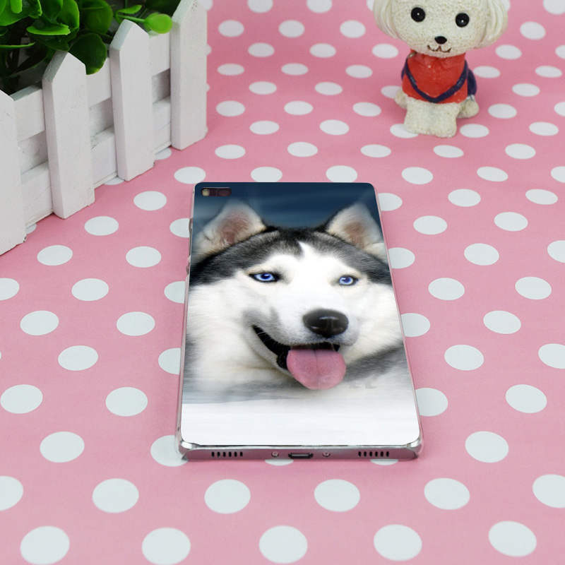 B3450 Sled Dogs Transparent Hard Thin Case Skin Cover For Huawei P 6 7 8 9 Lite Plus Honor 6 7 4C 4X G7