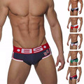 BS sexy men underwear aussie Ropa Interior cueca male panties Mens brief cotton briefs men's underpant man brand men shorts add