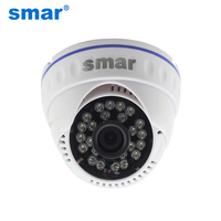 CCTV Analoge Camera 700TVL 800TVL 1000TVL Dome Thuis Bewakingscamera 24IR Led met IR-Cut Dag/Nacht Video Surveillance 3.6mm Lens