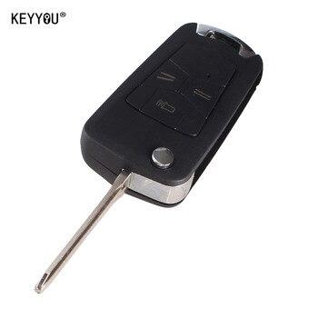chiave telecomando per Toyota Hilux Rav4 Corolla Camry 3 Tasti Toy43 Blade