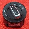 Original OEM VW Chrome Headlight Switch Auto For VW Jetta Golf MK5 MK6 Passat B6 3C Tiguan Rabbit 5ND 941 431 B 5ND941431B