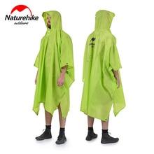 Naturehike 3 in 1 Multifunction Raincoat Backpack Cover Outdoor Awning Camping Mini Tarp Sun Shelter 20D Silicone 210T Taffeta цена в Москве и Питере