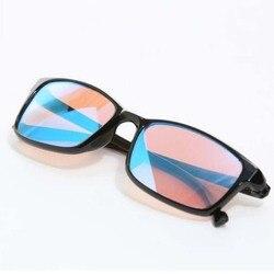 Новинка 2019, очки для слепоты, красный, зеленый цвет, линза, корригирующие HD очки для женщин и мужчин, цветные очки для слепого теста, водитель...