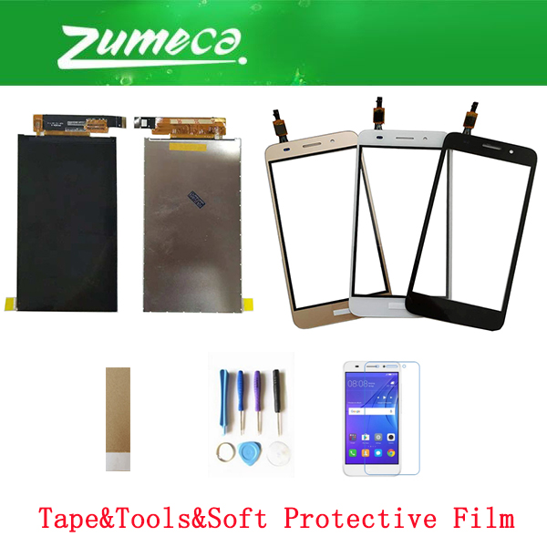 5.0 Inch For Huawei Y3 2017 CRO L22 CRO L02 CRO L03 CRO L23 CRO U00 LCD Display Screen +Touch Screen Digitizer Color With Kits|Mobile Phone LCD Screens| |  - title=