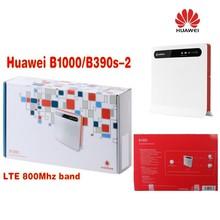 VODAFONE LTE B1000 WIRELESS ROUTER / HUAWEI B390S-2 -WLAN+4x LAN+2pcs 4g antenna