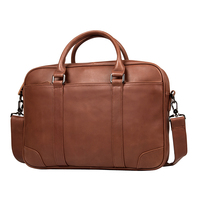 Augus Top Quality Leather Classic Laptop Bag For Business Person Business Brifecase For Women And Men