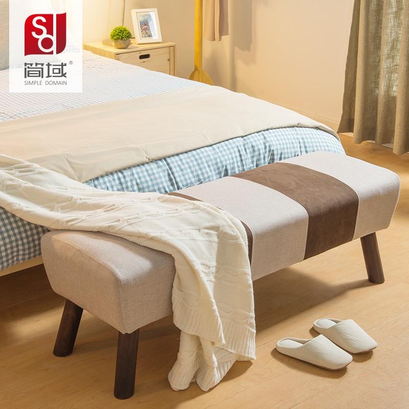 Bank Vorm Bett domain einfach bett test seine schuhe stuhl stuhl holz stoff