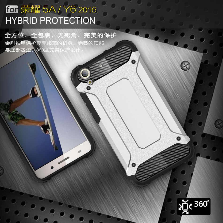 Armor Case for Huawei Y6 II 2 CAM-L32 Y6II CAM-L21 CAM-L23 CAM-L03 Bumper  Fitted Case for Huawei Y 6 II 2 Cam L21 L32 L03 Cover