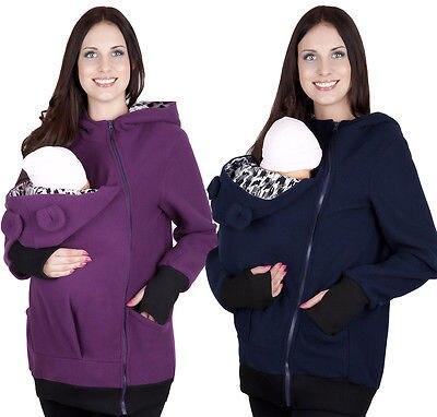 Fashion Baby carrier Kangaroo Coat Jacket Warm MOM and BABY babywearing fleece Winter Warm Jackets