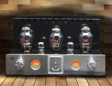 WANBAO 300B-A3 Vacuum Tube Integrated amplifier 274B push 300B*2 Single-ended Class A power amplifier 2X8.5W 110/220V
