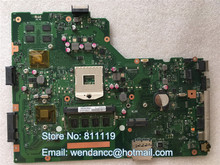 Free shipping 95% new motherboard X75VD MAIN BOARD REV:2.0 With N13M-GE6-S-A1 Vga Chipset For X75VD motherboard