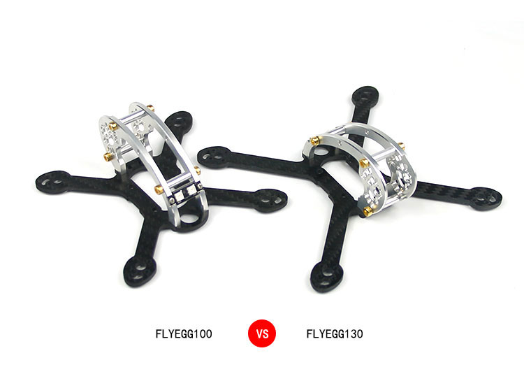 Body Frame for <font><b>RC</b></font> <font><b>Fly</b></font> <font><b>Egg</b></font> 100/130 KIT Mini Indoor Brushless Drone Quadcopter