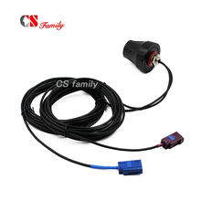 GPS otomotiv Fakra araba anten ile 4G 3 metre kablo