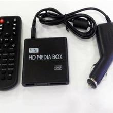 REDAMIGO автомобильный Full HD 1080P Мини медиаплеер для автомобиля центр HDD U диск мультимедийный плеер медиабокс с HDMI AV USB SD/MMC K7+ C