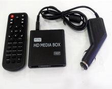 REDAMIGO-Minireproductor MultiMedia Full HD para coche, 1080P, HDD, disco U, caja MultiMedia con AV, USB, SD/MMC, K7 + C