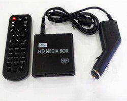REDAMIGO Car Full HD 1080P MINI Media Player for car Center HDD U Disk MultiMedia Player Media box with HDMI AV USB SD/MMC K7+C