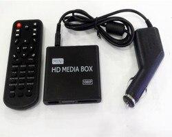 REDAMIGO samochód Full HD 1080P MINI odtwarzacz multimedialny na środek samochodu HDD U Disk dekoder odtwarzacza multimedialnego z HDMI AV USB SD/MMC K7 + C