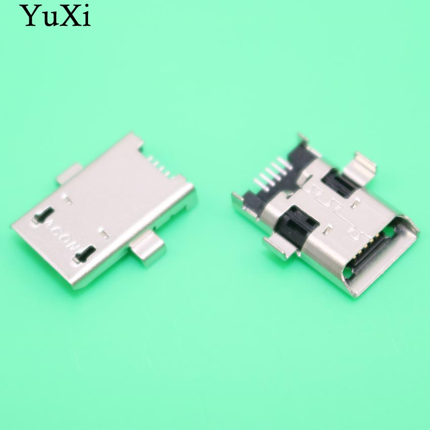 YuXi 10pcs/lot Micro mini USB DC Charging Socket jack connector Port for ASUS ZenPad 10 Z300C P023 plug-in data interface