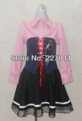 Umineko no Naku Koro Ni MARIA Halloween Cosplay Costume Custom made Free Shippin A0179