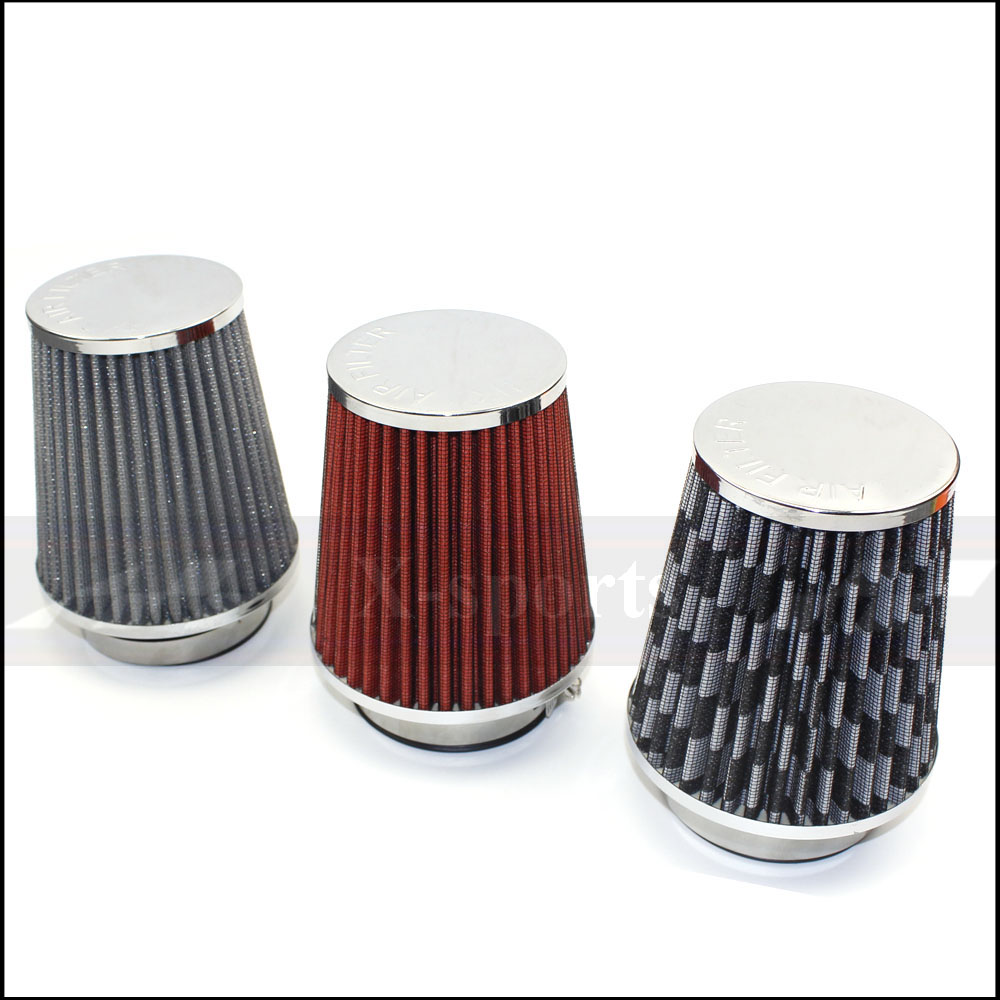 Contemplative Car Accessories Air Filter High Flow Mesh Cone Air Intake Hose Kit Filters Universal 76mm 3inch Stainless Steel High Power Red Orders Are Welcome. Auto Replacement Parts