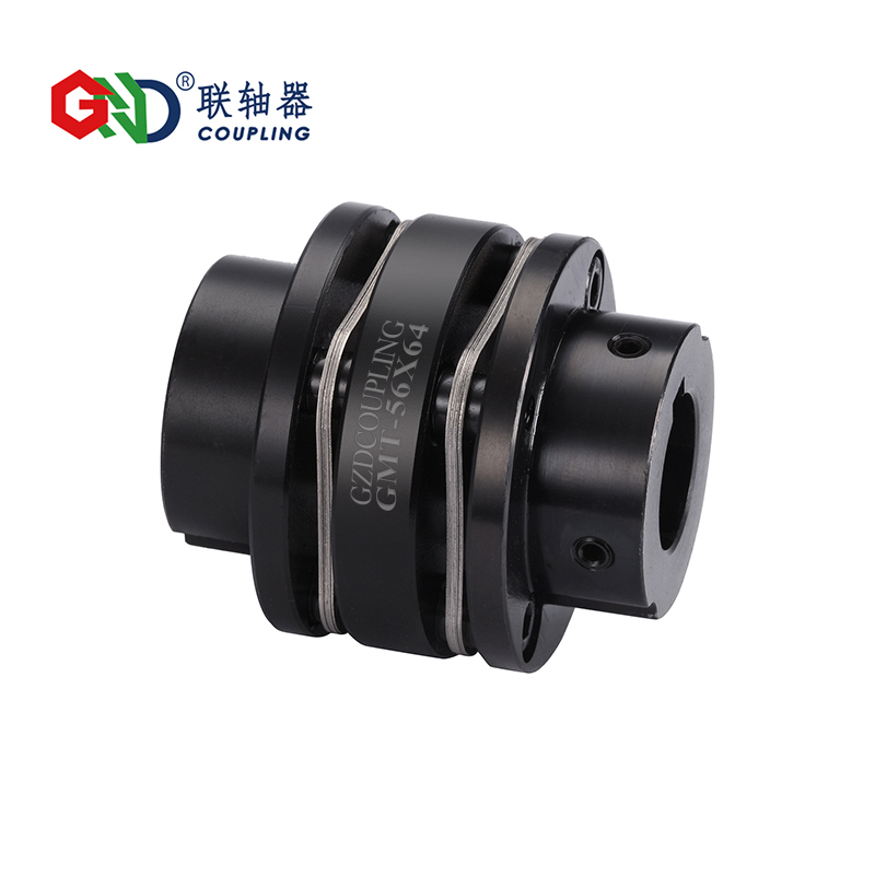 GMT 45# Steel Stepped Double Diaphragm Keyway Series 45# Steel shaft coupling D82 to 126mm; L98 to 110mm dac8552 dac8552idgkr d82 msop
