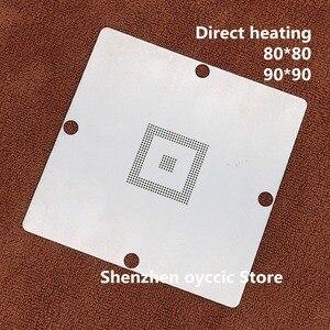Image 1 - Direct heating 80*80 90*90 EDC7/EDC16 MPC561/562/555 MPC562MZP56 MPC561MZP5 0.6MM BGA  Stencil Template