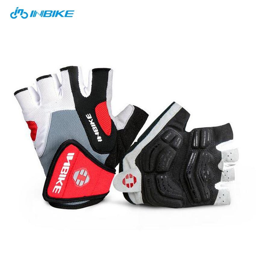 INBIKE Men Women <font><b>BIKE</b></font> <font><b>GLOVES</b></font> Bicycle CYCLING <font><b>GLOVES</b></font> Half Finger Gel Padded MTB Motorcycle <font><b>Gloves</b></font> Guantes Ciclismo Accessories