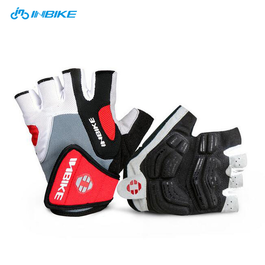 Pretty Sports Racing Cycling Bike Half Finger Gloves Bicycle Motorcycle gloves