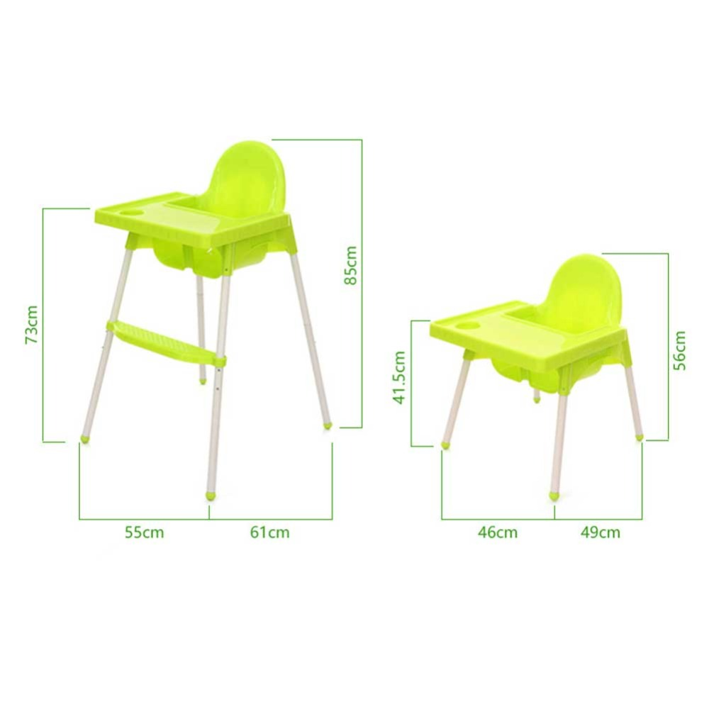 2 In 1 Multifuction Adjustable Dining Lunch Chair/Seat Safety Belt Baby Chair Portable Infant Seat Product Feeding Chair Baby