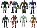 8 estilos/set LED REAL STEEL TWIN CITIES MIDAS ZEUS NOISY BOY ATOM ROBOT SET MULTI FIGURA de ACCIÓN ESTABLECE figura Juguetes