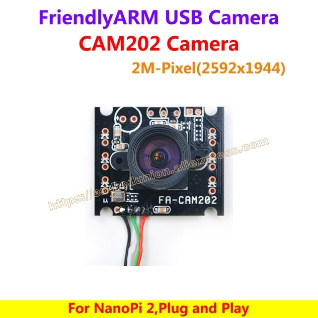 FA-CAM202 2M-Pixel USB Camera, Camera 200 Triệu Pixel USB Camera, cho NanoPi2 dưới Debian, Plug And Play, chip hiệu suất cao