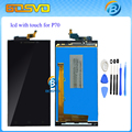 Garantía 100% de la pantalla lcd y la asamblea de pantalla táctil para lenovo p70 para lenovo p70-t p70t negro blanco + herramientas gratuitas envío gratis