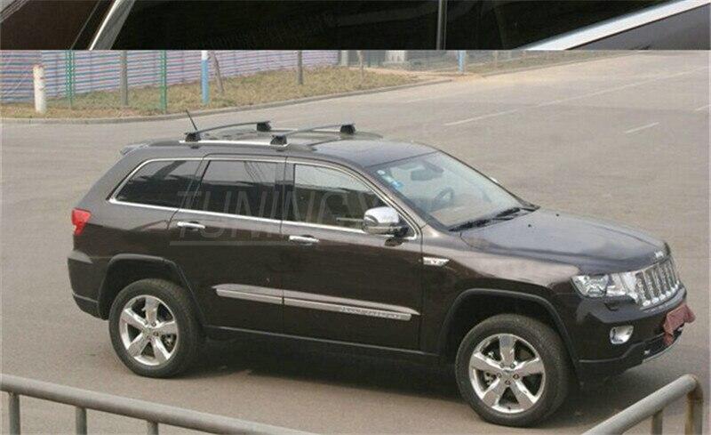 Алюминиевые поперечные весы для багажа багажник на крышу бар для Jeep Grand Cherokee 2011 2012 2013