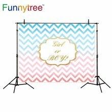 Funnytree chervon menina ou menino do aniversário pano de fundo para estúdio fotográfico profissional fundo photobooth prop foto