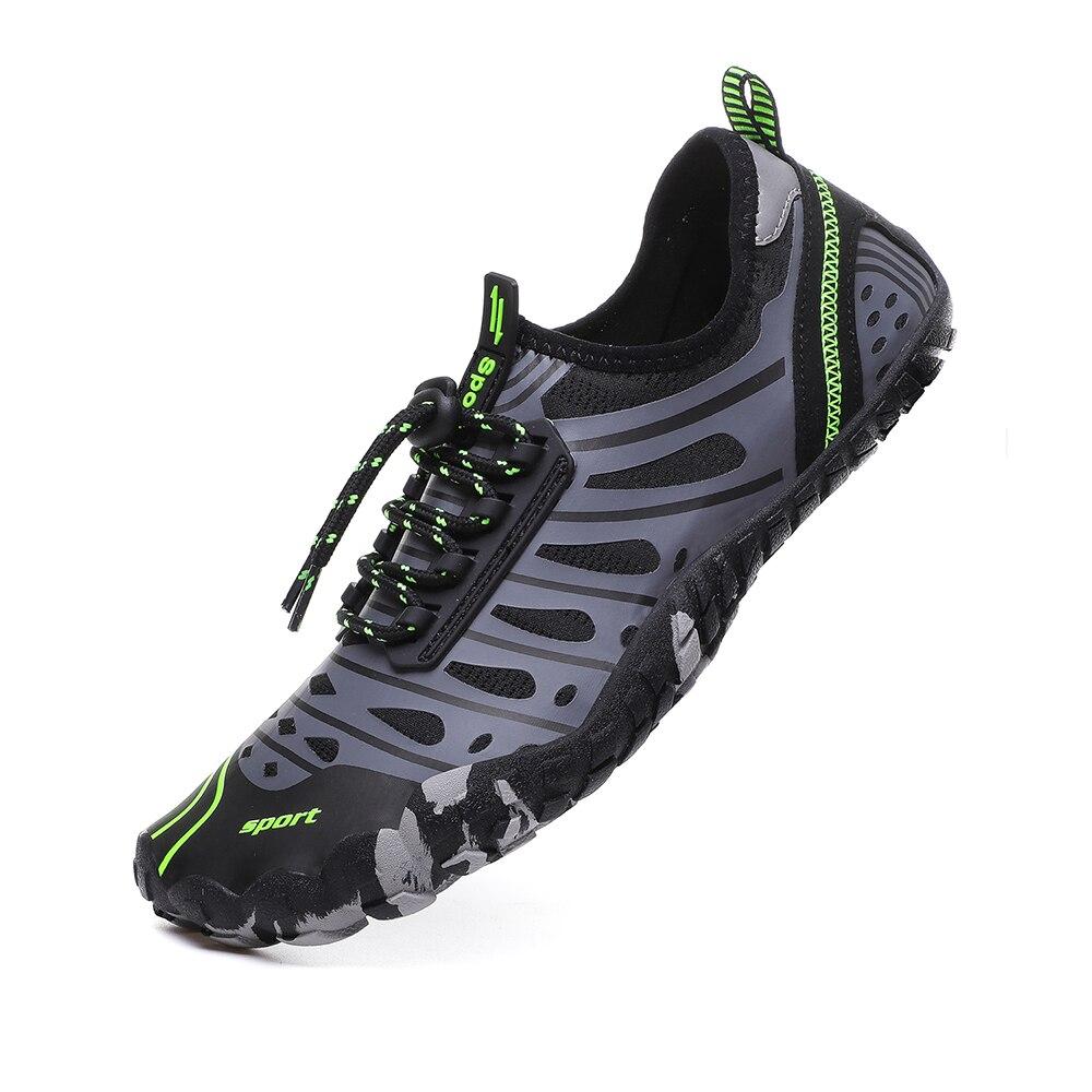 Hommes femmes amant Aqua chaussures grande taille Sports nautiques mer natation plongée baskets plage en amont pieds nus peau extérieure Yoga chaussures