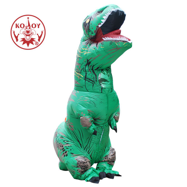 inflatable dinosaur costume adult t rex halloween carnival party funny dress up inflatable dino