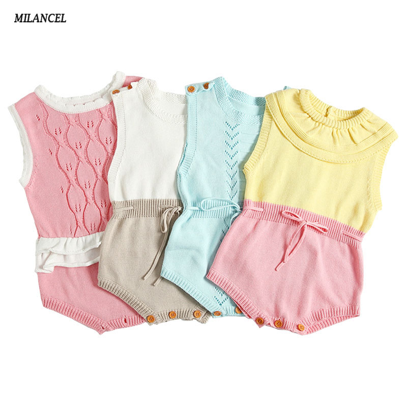 2017 Children Patchwork Bodysuit Baby Girl Boys Clothes Bodysuit Cute Jumpsuit Boys Bodysuits Kids Outfits 4