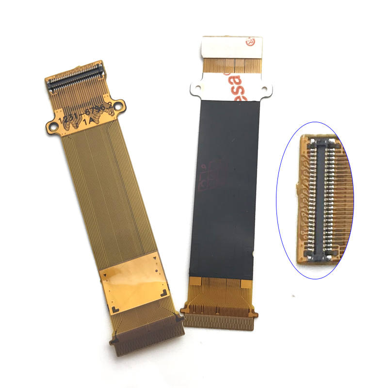 1Pcs LCD Connector Flex Cable Compatible For Sony Ericsson W20i W20 LCD Connect Motherboard Replacement Parts