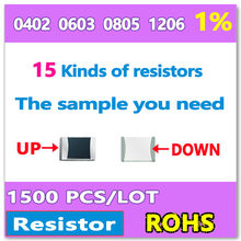 SMD SMT Surface Mount Chip Resistor 1206 1/% Tolerance Set of 100 Pieces 4.7R Ohm 4R7
