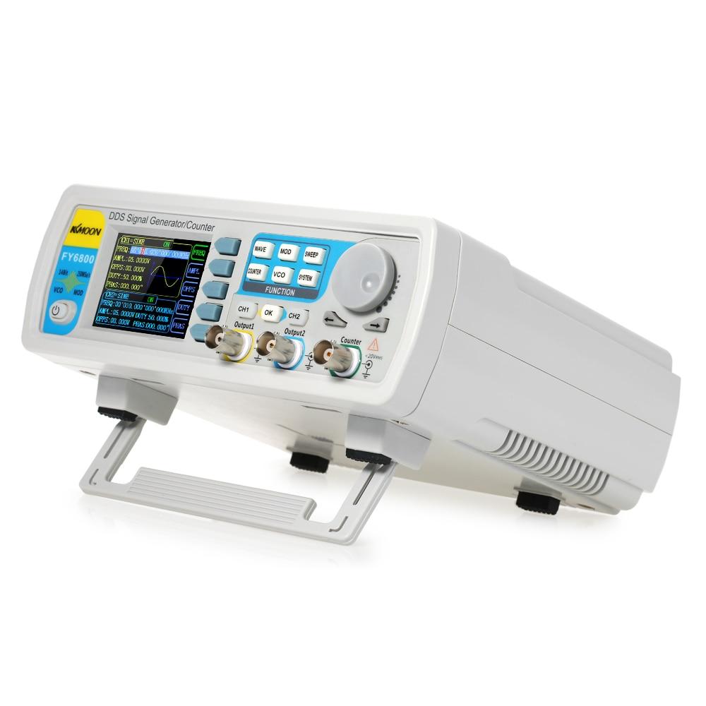 Signal Generator 60MHz Digital DDS Dual-channel Function Signal/Arbitrary Waveform Synthesizer Frequency MeterSignal Generator 60MHz Digital DDS Dual-channel Function Signal/Arbitrary Waveform Synthesizer Frequency Meter