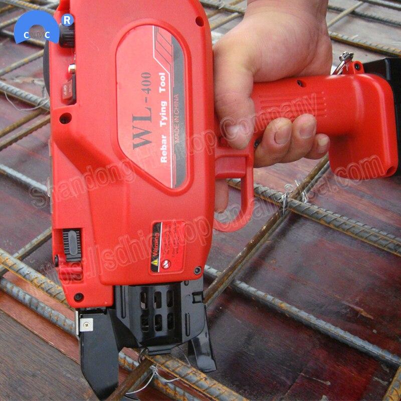 Ferramenta de subordinação vergalhões automática camada machineCordless Bateria Recarregável Elétrica Rebar amarrar Máquina Conjunto de Ferramentas Para a Construção Do Projeto