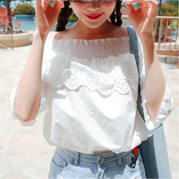 White Shirt Women Tops Embroidery Blouse Blusas Mujer De Moda 2017 Solid Shirts Women Blouses Camisa