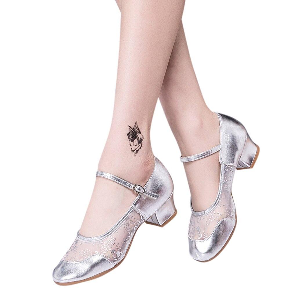 YOUYEDIAN Singles-Shoes Latin Newwomen Fashio Ladies Salsa Schoenen -G30 Prom-Ballroom