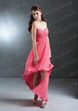 Free Shipping Beautiful British Style Sheath Sweetheart Floor Length Chiffon Maternity Bridesmaid Dresses BD065