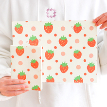 40 Sheets/Pack Kawaii Cute Strawberry Paper Stationery List Weekly Planner Agenda School Office Supplies Bullet Journal sl1957