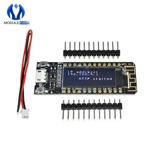 Image 3 - Internet van Ding CP2014 ESP8266 0.91 inch OLED 32 Mb Flash WIFI Module PCB Board voor Arduino NodeMcu IOT Development board