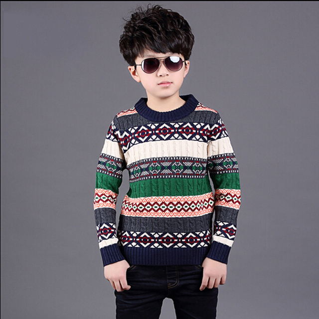 27d3ca5a92bf Boys Pattern Sweater Child Cartoon Sweaters Childrens Outerwear Boy ...