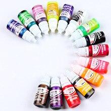 Newly UV Resin Liquid Pearl Dye Pigment Epoxy DIY Jewelry Making Crafts Tools 10g TE889